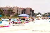 A view of Crescent Beach at Siesta Key