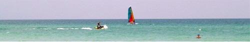 Jet Skiing offCrescent Beach on Siesta Key
