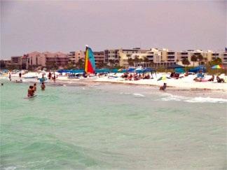 Crescent Beach on Sista Key Florida