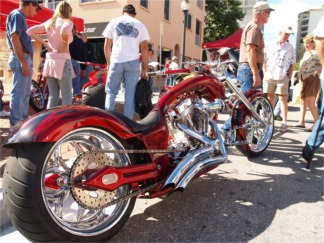 Sarasota's Thunder by The Bay Motorcycle festival