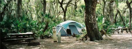 Tent Camping at Myakka River State Park