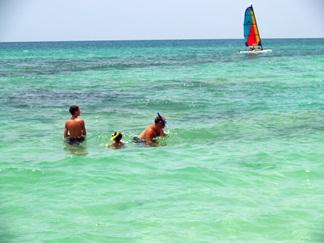 florida snorkeling on siesta key and point of rocks