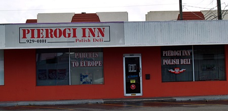 Pierogi Inn and Polish Deli in Sarasota's Gulf Gate District