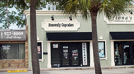 Gulf Gate's Heavenly Cupcakes Shop