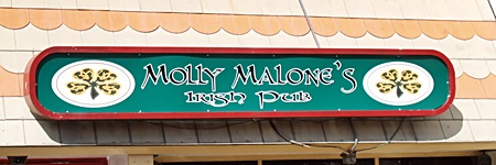 Molly Malone's Irish Pub in Sarasota's Gulf Gate area