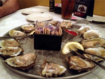 Half Shell Oyster House, Sarasota, FL