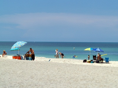 Nokomis Beach Florida on Casey Key