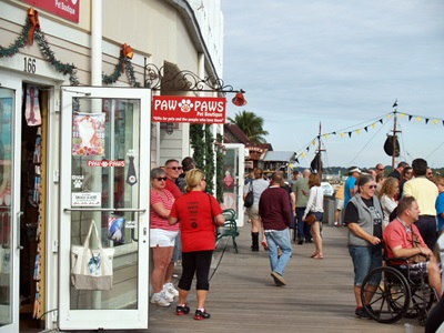 Johns Pass boardwalk shops