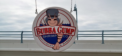 Bubba Gumps Shrmip Company at Madeira Beach, Florida