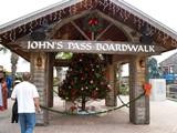 Entrance to Johns Pass Boardwalk