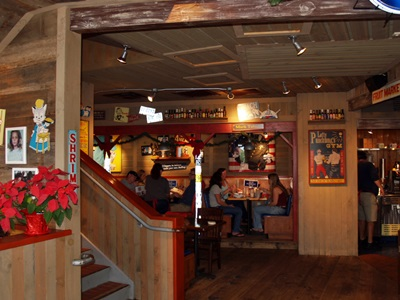 Another dining area at Bubba Gumps at Johns Pass