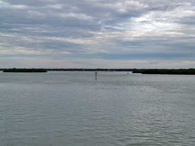 Johns Pass on the intracoastal at Madeira beach