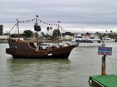 Piarate ship ride at Johns Pass