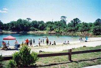 Oscar Scherer Park's Lake Osprey Sarasota County Florida