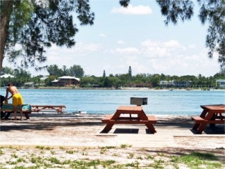 Lido Key Park picnic area