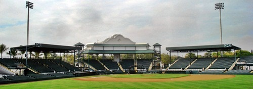 McKechnie Field in Bradenton Florida