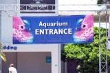 Entrance at Mote Aquarium