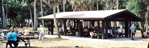 Picnic Pavilion at Myakka River State Park