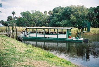 The Gator Gal tour airboat