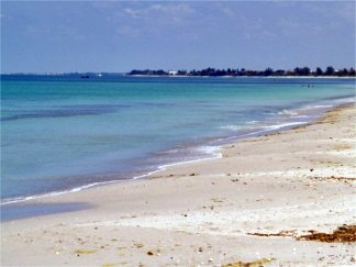 Nokimis Beach on Casey Key Florida Looking North