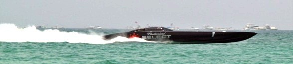 Offshore racing at Lido Beach