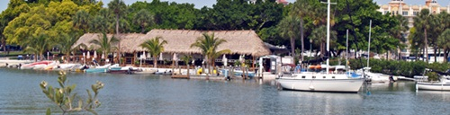 OLearys Tiki Hut Bar and Grill on Sarasota Bay