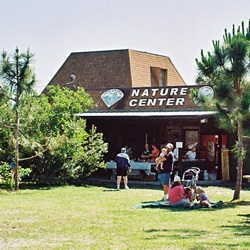 The Nature center at OScar Scherer State Park in Osprey Florida