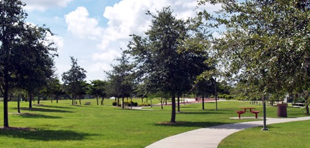 Walking Paths in Payne Park Sarasota