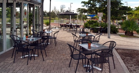 Sarasota's Payne Park's Cafe in the Park