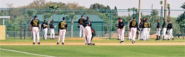 Pittsburgh Pirate Spring Training at Pirate City