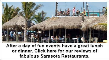 Sarasota area restaurants and hot spots