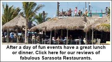 Sarasota area restaurants and hot spots