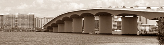 Ringling Bridge across Sarasota Bay