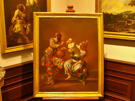 Renaissance Art on display in the Ringling Museum of Art in Sarasota, Florida