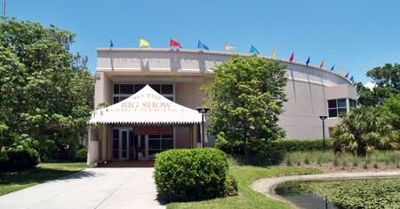 Entrance to the Ringling Circus Museum, Sarasota, FL