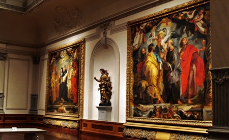Works of Ruben at the Ringling Museum of Art, Sarasota, Florida