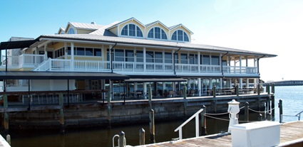 The Riverhouse Grill on the Manatee River