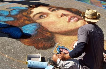 The Sarasota Chalk Fest moves to Venice, FL