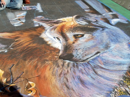 The Sarasota Chalk Festival brings out the crowds