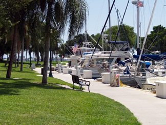 Sarasota County Florida Fishing Sarasota bayfront harbor