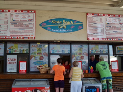 Concession Stand Siesta Beach