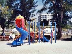 Kids playground at Siesta Key Beach Sarasota Florida