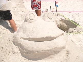 Siesta Key Beach Sand Sculpting Contest