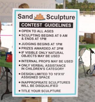 Siesta Key Beach Sand Sculpture Contest