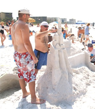 Siesta Key Beach Sand Sculpting Contest Sarasota Florida