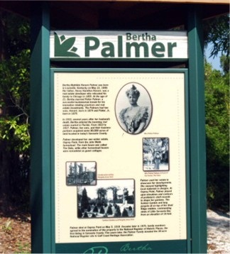 Bertha Palmer of Spanish Point History