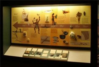 Spanish Point pre historic exhibit