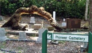 Pioneer Cemetery at Historic Spanish Point