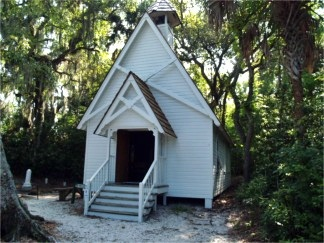 Mary's Chapel at Historic Spanish Point, Osprey, Florida