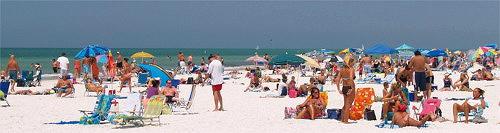 Girls on the beach on Siesta Key Florida